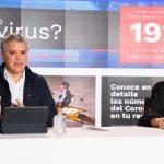 Este sábado, el Presidente Iván Duque y la Ministra de Educación, María Victoria Angulo, explicaron por medio de respuestas en Facebook Live las medidas de regreso a clases con protocolos de seguridad y un modelo de alternancia.