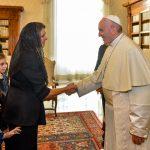 Primera Dama participará en encuentro virtual con el Papa Francisco, en el marco del Día Mundial del Medioambiente