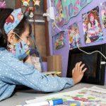 Estudiante del Liceo Femenino Mercedes Nariño, de la localidad de Antonio Nariño