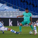 El Madrid gana 1-2 a la Real Sociedad