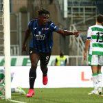 Doblete de Duván Zapata en el triunfo del Atalanta 4-1 al Sassuolo