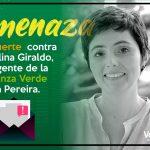 Excandidata a la Alcaldía de Pereira, Carolina Giraldo