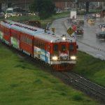 Tren de pasajeros Bogotá - Cajicá
