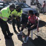 Nairo Quintana atropellado por un carro en Boyacá.2