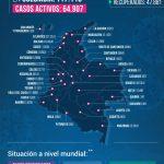 El número de fallecidos por COVID-19 superó los 4 mil en Colombia 05072020
