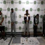 Cayeron los cronos, responsables del hurto a una joyería en un centro comercial Foto Policía Bogotá