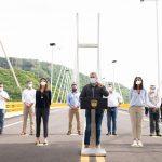Este viernes, el Presidente Iván Duque puso en operación la autopista Girardot-Honda-Puerto Salgar, la primera de Cuarta Generación (4G) en terminar la etapa de construcción y que contó con una inversión de $1,95 billones.     Foto: Efraín Herrera – PRESIDENCIA