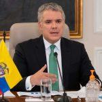 Iván Duque Márquez ,presidente  de  Colombia