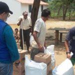 Ayuda Humanitaria a indígenas.Foto Unidad de Víctimas