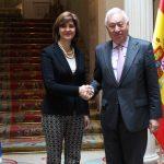 José Manuel García-Margallo, Ministro de Asuntos Exteriores y de Cooperación del Gobierno de España ofreció un almuerzo en honor de la Canciller María Ángela Holguín