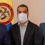 Presidente Duque Se reunio con los presidentes del Congreso, Arturo Char al Senado y Germán Blanco a la Cámara-2