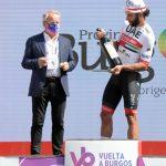 Fernando Gaviria gano la segunda etapa de la vuelta a Burgos