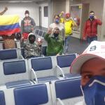 Colombianos varados en Nueva York