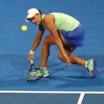 La tenista australiana Ashleigh Barty durante un partido de la WTA en el Abierto de Qatar, en Doha, Foto REUTERS/Ibraheem Al Omari