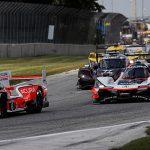 Juan Pablo Montoya, Dane Cameron, #7 Acura Team Penske Acura DPi, DPi: Helio Castroneves, Ricky Taylor, start