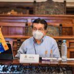 Ministro de Salud y Protección Social, Fernando Ruiz Gómez, desde Popayán