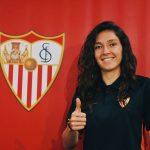 La capitana de la selección colombiana de fútbol, Natalia Gaitán ,fichada para este temporada por el club español Sevilla FC, habla sobre los retos que enfrentan las jugadoras en medio de la pandemia.