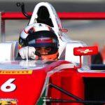 El piloto colombo estadounidense de la Escudería Telmex-Claro Colombia, Sebastián Montoya