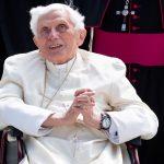 El papa emérito Benedicto XVI.-Foto Sven HoppePool vía REUTERS.