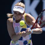 ILa tenista croata Donna Vekic durante el partido por tercera rondo del Abierto de Australia, en el Melbourne Park, Melbourne. REUTERS/Kim Hong-Ji