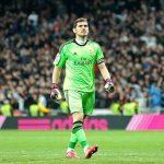 El portero español Iker Casillas