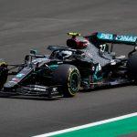 Circuito de Silverstone, Silverstone, Reino Unido -  Valtteri Bottas, de Mercedes, durante la ronda de clasificación. Will Oliver/Pool via REUTERS