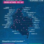 387.481 casos y 12.842 fallecidos por Covid-19 reporto el INS