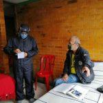 Brote de COVID-19 entre adultos mayores en Bogotá .foto Secretaría de Integración Social de Bogotá