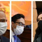 Ternados a Defensor del Pueblo Carlos Camargo, Luis Andrés Fajardo y Myriam Ramírez, Fotos Cámara de Representantes