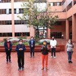 La alcaldesa de Bogotá, Claudia López y el ministro de Salud, Fernando Ruiz, se reunieron este sábado, en la Secretaría Distrital de Salud, para analizar la situación de la ciudad por la pandemia y las posibles medidas a tomar cuando termine la cuarentena por localidades