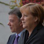 con la Canciller Federal de Alemania, Ángela Merke2