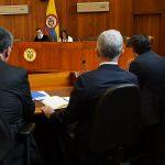 Senador Álvaro Uribe Vélez ante la Corte Suprema de Justicia