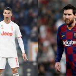 El portugués, Cristiano Ronaldo, y el argentino, Lionel Messi. (Claudio Pasquazi y Burak Akbulut - Agencia Anadolu