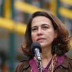 Consejera Presidencial para los Derechos Humanos, Nancy Patricia Gutiérrez,
