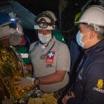 El Presidente Duque esto presente cuando fueron rescatados los tres mineros en el municipio de Lenguazaque