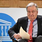 Antonio Guterres,secretario general de la ONU,