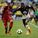 Andrés Ibargüen durante un partido de la Liga de Campeones Concacaf entre América de México y Toronto de Canadá. REUTERS/Henry Romero