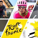 Cartas de Colombia en el Tour de Francia 2020