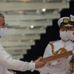 El Presidente  Duque posesiono al  almirante, Gabriel Pérez Garcés, como nuevo comandante de la Armada Nacional. Foto PRESIDENCIA