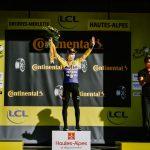 Primoz Roglic ,gano cuarta etapa del Tour de Francia