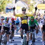 Wout Van Aert se quedó con la victoria en la quinta etapa del Tour de Francia