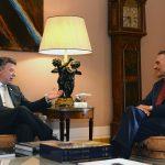 Presidentes de Colombia y Portugal