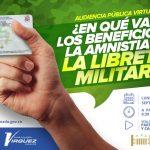 Amnistía para remisos y beneficios para quienes presten el servicio militar serán revisados en el Congreso