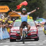Nans Peters se impuso este sábado en Loudenvielle en la octava etapa del Tour de Francia.Foto Presse Sports-Franck Faugere