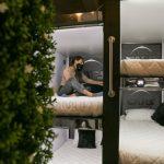 Hotel Caps Future Rooms en Bogotá, Colombia, opera bajo la premisa de cumplir estrictamente con las regulaciones antiepidémicas del Gobierno en medio de la pandemia de COVID-19. (Juancho Torres - Agencia Anadolu)