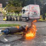 Disturbios en el CAI de Villa Luz