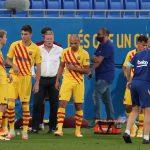 Primer partido de pretemporada para los culés que significó el estreno de Ronald Koeman en el banquillo blaugrana en el estadio Johan Cruyff de la Ciudad Condal.