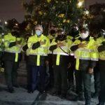 Presidente Duque vistió traje de policía y visitó algunos CAI de Bogotá