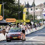 Soren Kragh Andersen, del equipo Team Sunweb, cruzando la meta en la etapa 19 del Tour de Francia. Sep 18, 2020. REUTERS/Benoit Tessier/Pool