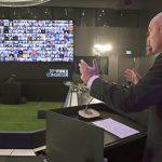 El presidente Infantino aboga por un regreso seguro del fútbol en el Congreso virtual de la FIFA
